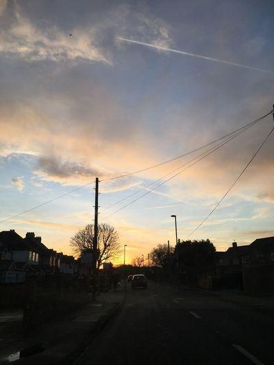 Cloud - Sky Road Sky Street Sunset