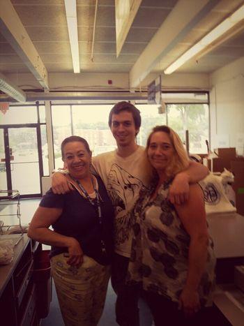 Melinda ,Tim & Zoila At My Store