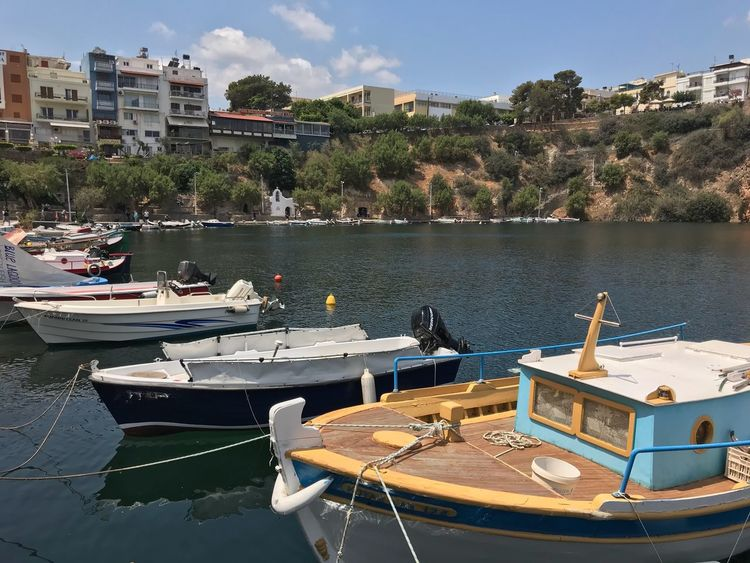 Vacation Crete Greece Water Nautical Vessel Building Exterior Architecture Built Structure Transportation Mode Of Transportation Day City Lake Waterfront Outdoors Sky Adventures In The City