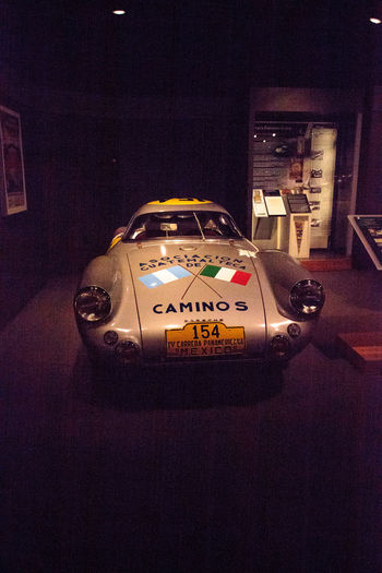 Naples, Florida, USA – May 5, 2018: Silver 1953 Porsche 550 Coupe displayed at The Revs Institute in Naples, Florida. Editorial use only. 1953 Classic Car Porsche Porsche 550 Coupe Revs Institute The Revs Institute Car Close-up Indoors  Mode Of Transportation Motor Vehicle No People Old Car Porsche 550 Sports Car Transportation Vintage Car