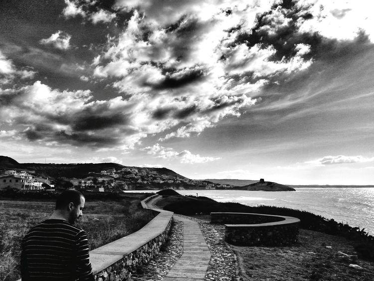 Landscapes Landscape Black And White Nature Black & White Black And White Mare Landscape Seascape Sardegna Sea Clouds Clouds And Sky Sardinia Sardegna Italy  Cloud - Sky Sarchittu S'archittu S'archittu Sardegna