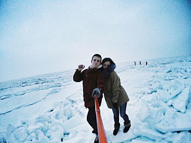 На льдах