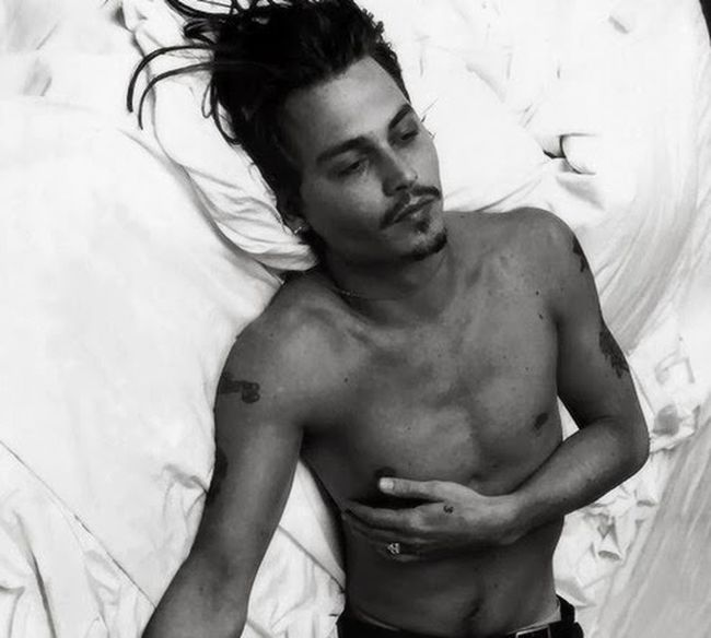 Johnny Depp One Love❤ Black & White