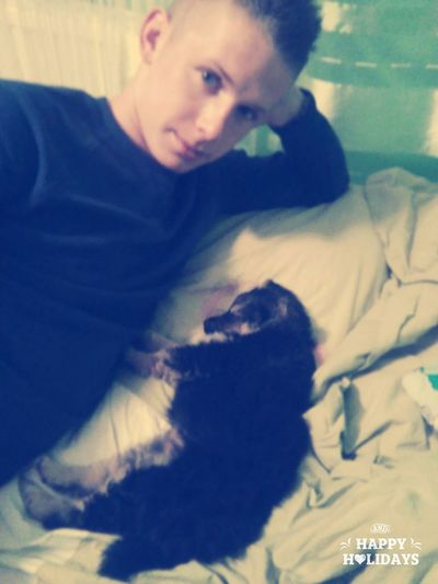 My Love❤ And My Lovely Dog <3 Relaxing ♥