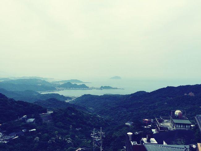 Cobalt Blue By Motorola Jiufen Taiwan Taipei Blue Jeanzao