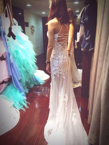 這套真的好美 Wedding #Dress Weddingdress