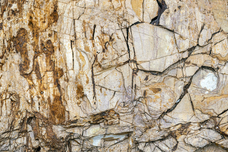 Full frame of natural stone patterns used as background