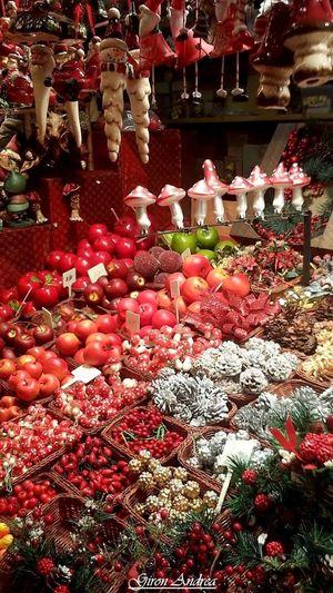 Decoration De Sapin Pommes Marché De Noël Strasbourg
