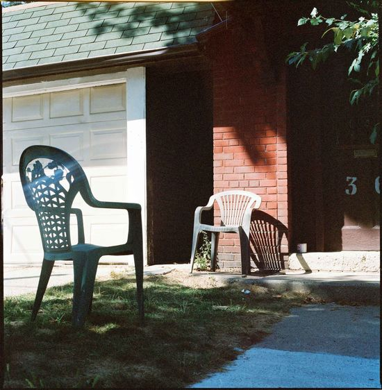Absence Architecture Building Exterior Built Structure Chair Day Entry Furniture No People Outdoors Seat Tree