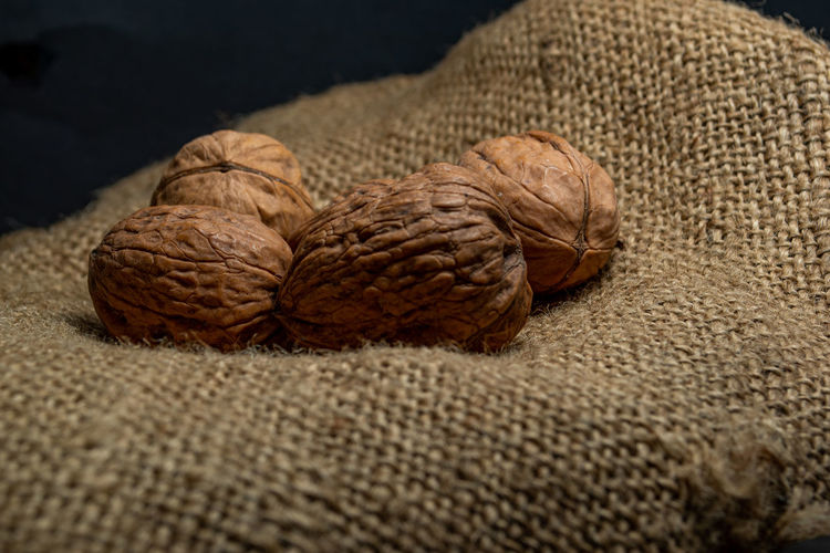 Close-up of walnut