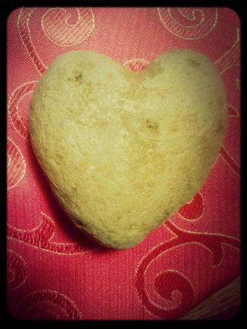 A Heart Potatoe I Found Around Valentines Day(: