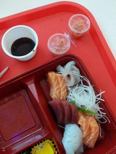 Sashimi  City Cultures Chopsticks High Angle View Close-up Food And Drink