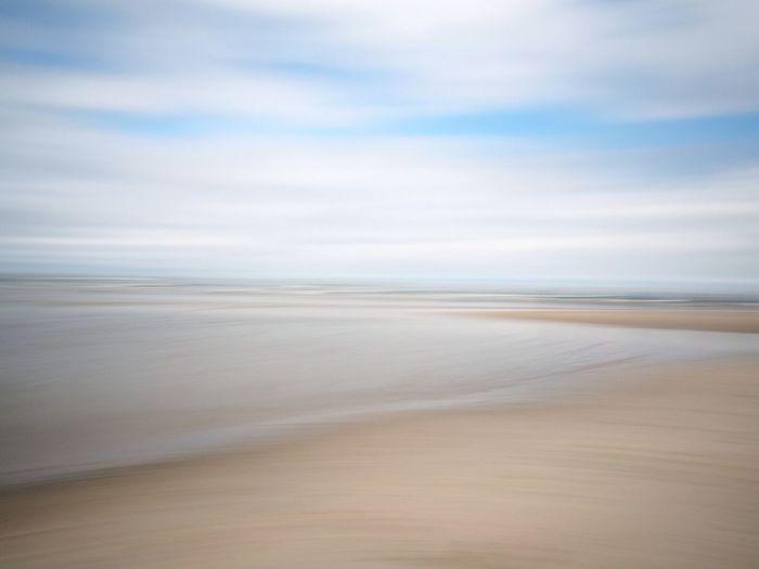 Spiekeroog Wischer Sea Beach Scenics Nature Tranquility Tranquil Scene Horizon Over Water Sand Beauty In Nature Sky Water Idyllic Landscape Outdoors Day Cloud - Sky No People