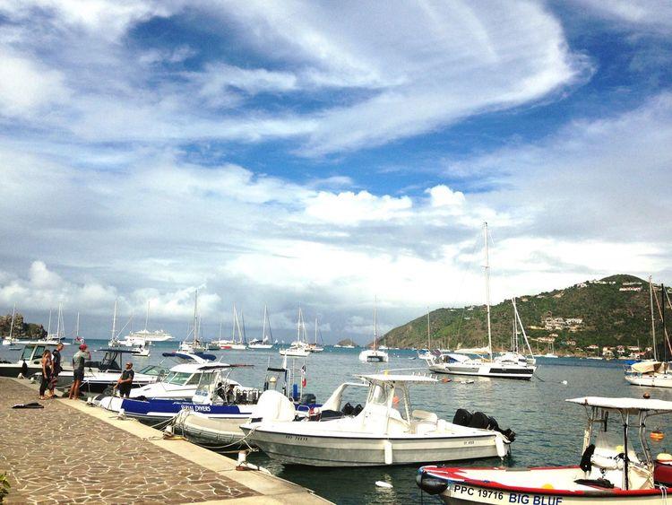 Island Islandlife Caribbean Pier Boats Sea Sea And Sky Clouds And Sky Summer Summertime Holidays Easy Life St Barths