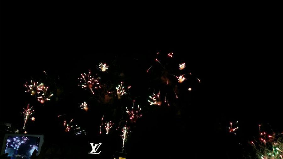 Firework Fireworks Fireworks! Fireworks(: Fireworks In The Sky FireWorkDisplay Firework Show Fireworksphotography Louis Vuitton Louisvuitton