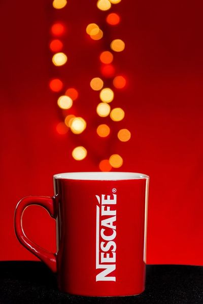 Red Nescafe Showcase: February Taking Photos Relaxing Enjoying Life Check This Out Hello World Nikonphotography Nikon D7200 Logo Bokeh Close-up Coffee Week On Eyeem EyeEm Best Shots EyeEmBestPics Popular Photos