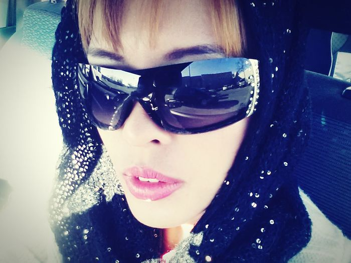 Bundled up in a cold Louisiana weather. Wintertime Louisiana Louisiana Winter Self Portrait