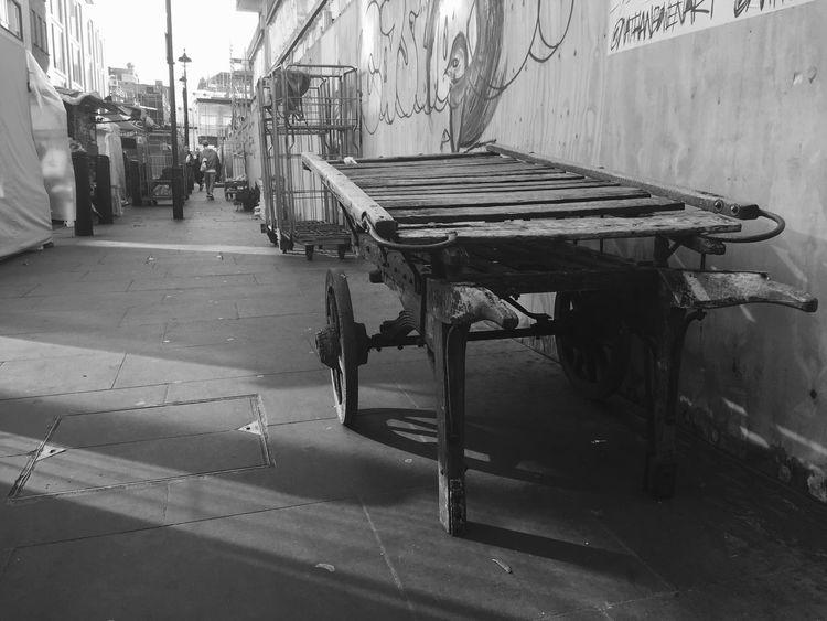 Berwick Street Market, London Market Street Streetphotography Monochrome Blackandwhite London Soho Cart History Historic