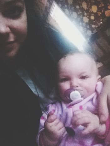 awh penny. :* Niece  Baby Cute Mwahh