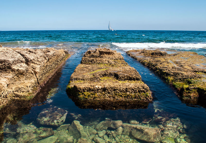 Malta Mare Natural Pools Onde Piscine Piscine Naturali Rocks Scogli Sea Sliema Sole