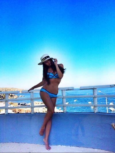 Blue Sky Bikini Sexygirl At Malta