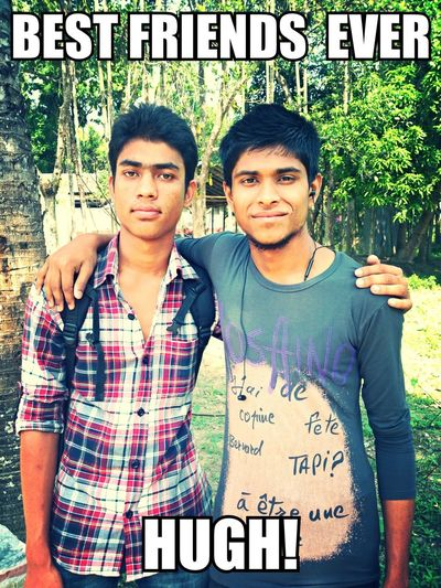Friends Forever! KFK 118114 & Sourab In My Place,,Gafargaon,Mymensingh,Dhaka,Banglades