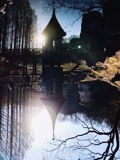 Travel Destinations Japan Garden Lakeside