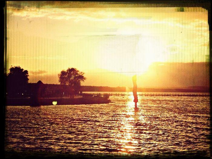 Sunset im Herbst in Steinhude Sun_collection Steinhude-am-meer.de - Dein Meer-Foto