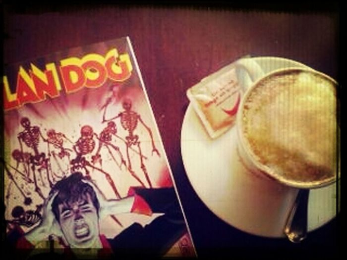 Breakfast Cappuccino Break Dylan Dog Morning