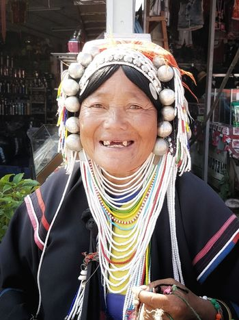 Thailand Akha Hilltribe Hill Tribe Woman Woman Portrait One Person Portrait Women Who Inspire You Outdoors One Woman Only Traditional Dress Jewelry People Real People Close-up Traditional Costume First Eyeem Photo Northern Thailand Mae Salong Asian Culture Asian Woman Tribeswoman Minority Group Hill People The Portraitist - 2017 EyeEm Awards