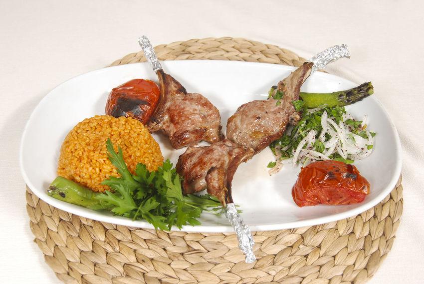 Beef Steak Beef Lahmacun Fish Alinazik Fast Food Pide Calamari Kalamar  Pitta Kebap Turkish Kebap Mushroom Cipura See Bream Karides