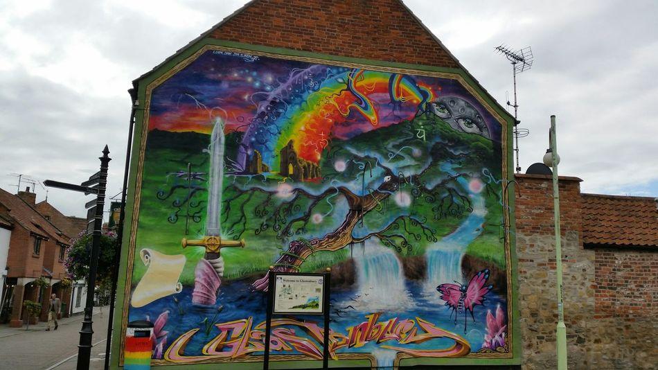 Street Art Glastonbury Avalon