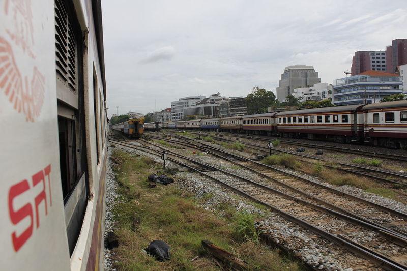 Rail Rail Thailand Railroad Train Train Thailand Train Window Travel Travel Train