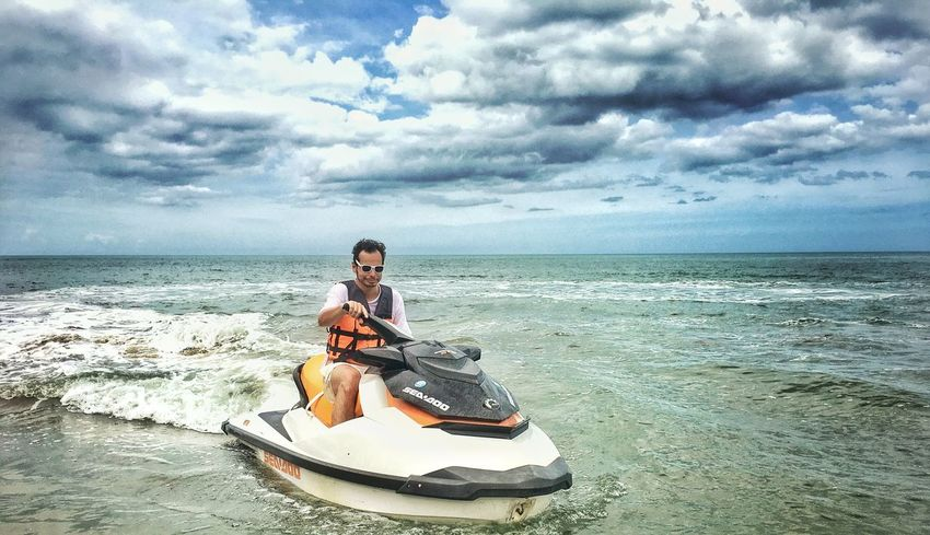 Jetski Thailand Pranburi Aleenta Beach Beachphotography Beach Life Jetskiing Watersports