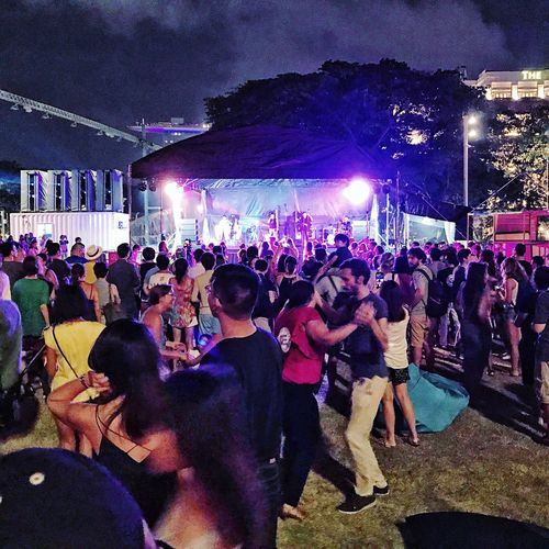 Dancing under the sky. Outdoor Festival 2017. Arts Culture And Entertainment Art Night Nightphotography Night Lights Night Photography Music Festival Crowd City Life Cityscape Enjoyment Party OpenEdit EyeEm Best Shots EyeEm Gallery Street Photography Streetphotography Band Dancing First Eyeem Photo