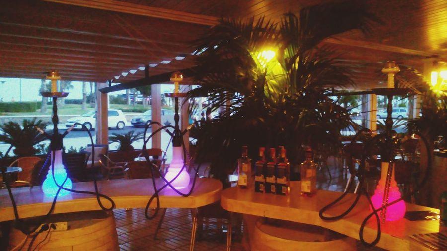 Night Bar - Drink Establishment Lifestyles Nightclub Vacations Happy Hour Shisha ❤ Shisha Time Cachimba  Colors Colores Led Lights
