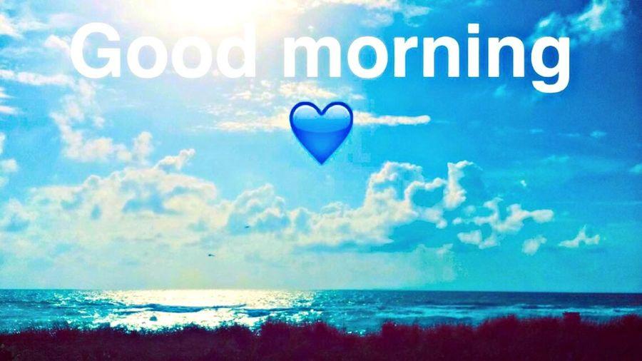 Morning Ocean Sky