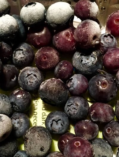 My Favorite Breakfast Moment every morning I eat a whole container of frozen blueberries Blueberries Frozen Fruit Fruit Blue Food Close-up