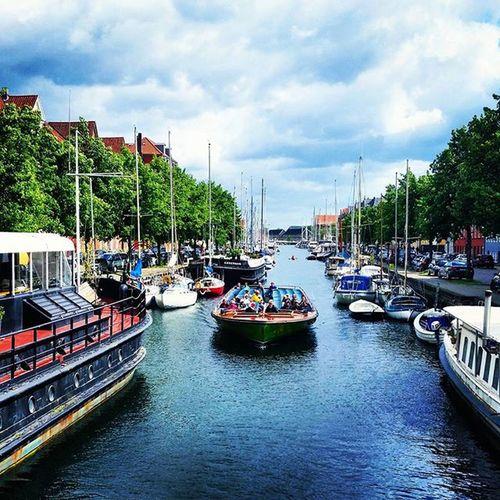🌳🌞🌊🚢🌳 Kanalrundfart Christianshavn Sommerpåsjæĺland