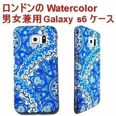 Internationalshipping セレクトショップレトワールボーテ Facebookページ Galaxys6 ギャラクシー Galaxyケース レトワールボーテ Galaxycase Galaxy ギャラクシーケース Watercolor 海外発送 Blue White Background Close-up No People Day