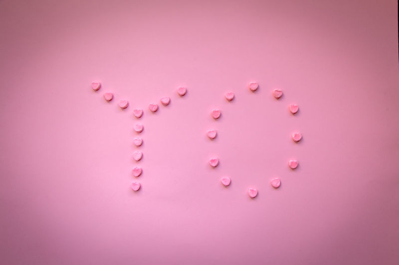 """Word """"YO"""" which means """"I"""" in spanish shaped with little pink heart marshmallows in a pink background. Freedom I Love Marshmallows Pink SelfEsteem Spanish Woman Abstract Backgrounds Candy Close-up Food And Drink Girl Girly Independant  Language Monochromatic Pink Color Power In Nature Strong Studio Photography Studio Shot Sweet Yo"""