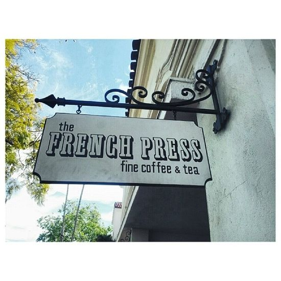 Santabarbara Colorphotography Frenchpress Coffee