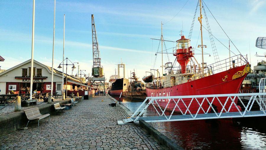 Göteborg, Sweden Boats Sea Sweden Suède Bateau Boat Ocean Landscape Port Arbor