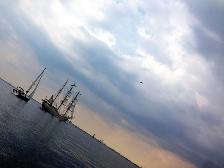 25 Days Of Summer The Purist (no Edit, No Filter) Going Sailing Hanse Sail 2013