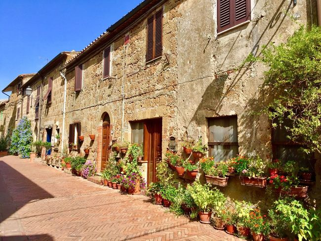 Sovana Architecture Built Structure Building Exterior No People Day Outdoors