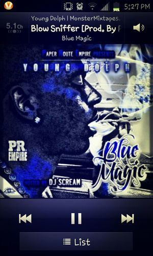 Chillin Listenin To Young Dolph