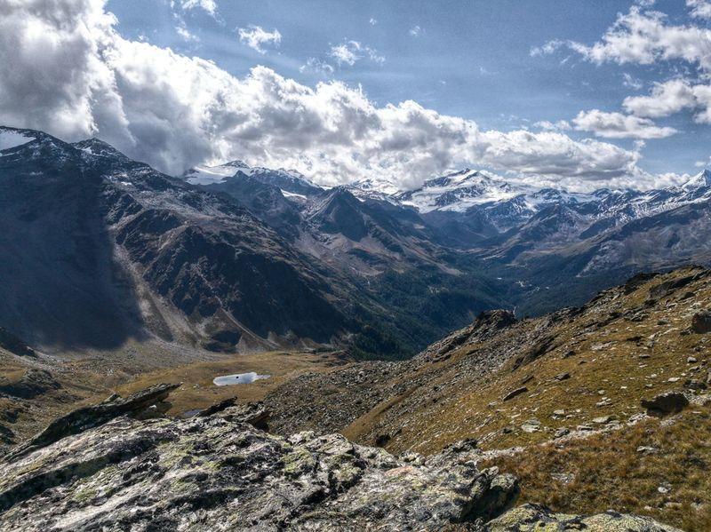 Alto Adige Cloud Hiking Landscape_Collection Südtirol Travel Adventure Alps Beauty In Nature Cloud - Sky Day Landscape Mountain Nature No People Outdoors Range Scenery Sky Snow Travel Destinations