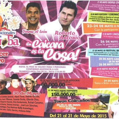 Ferias Party Caicaradelorinoco
