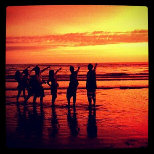 Sun Worshippers Tanjung Aru Kotakinabalu Malaysianborneo Dusk sunsets sunspotters instaparadise instagold instamood instagramphotography insta_pic instagramhub instagram igdaily igersmalaysia igdaily igphoto igoftheday gf_daily gf_featured gf_malaysia gang_family capturedmoments