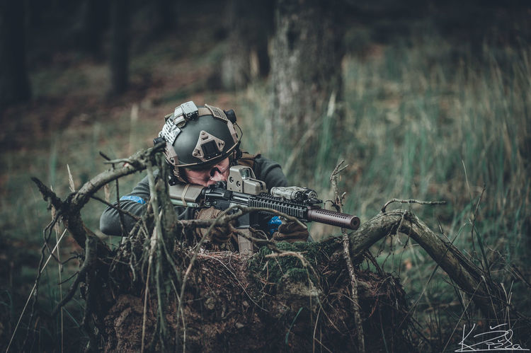 Tree Rifle Men First Eyeem Photo Always Forward Full Length Military Uniform Real People Adult Adults Only People Special Forces Military Msot 8222 MARSOC Armed Forces Marine Corps Outdoors Army One Person One Man Only Protection Forest Only Men Weapon Day